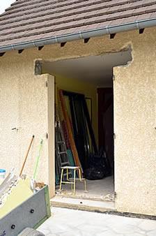 baie vitre sans seuil awesome baie vitre coulissante en aluminium gris h cm x l cm x ep mm with. Black Bedroom Furniture Sets. Home Design Ideas